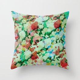 Abstract XXVII Throw Pillow