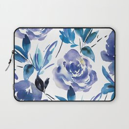 Royal Blue Garden 01 Laptop Sleeve