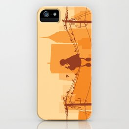 Too Big For The City iPhone Case