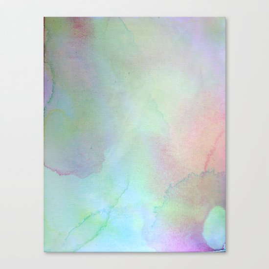 Color Field/Washes II Canvas Print