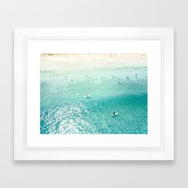Surfers II Framed Art Print
