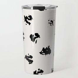 Polka Splotch Travel Mug
