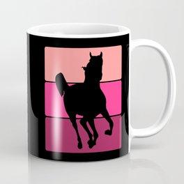 3 Tone Horse Coffee Mug