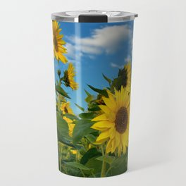 Sunflowers 11 Travel Mug