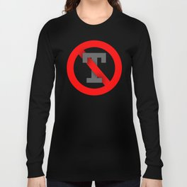 No T Long Sleeve T-shirt