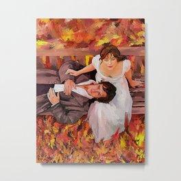 LIZZY E DARCY COUPLE - PRIDE AND PREJUDICE 2005 Metal Print