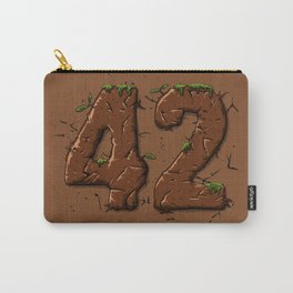 42 wood Carry-All Pouch