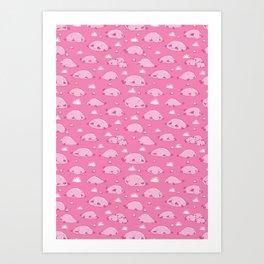 Bulbous Blobfish Art Print