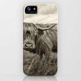 Moo Hair iPhone Case