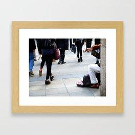 The Violinist Framed Art Print