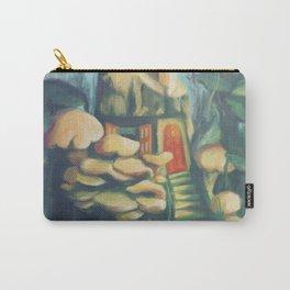 Mushroom House Carry-All Pouch
