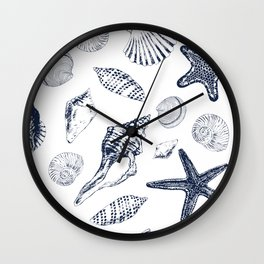 Underwater creatures Wall Clock