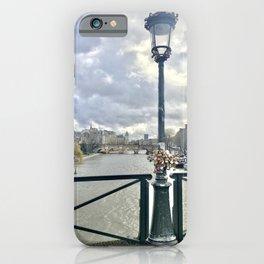 Love Locks in Paris iPhone Case
