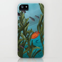 Into the Kelp iPhone Case