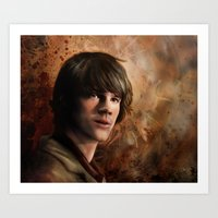 sam winchester Art Prints featuring Sam Winchester by Jackie Sullivan