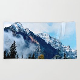Mount Beach Towel