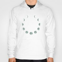 moon phases Hoodies featuring Moon phases by ShaMiLa