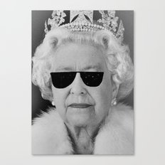 BE COOL - The Queen Canvas Print