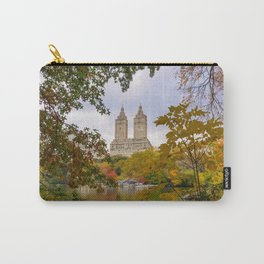 Fall in Central Park (fall foliage, autumn colors, NYC skyline) Carry-All Pouch
