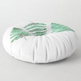Fiordland Forest Ferns Floor Pillow