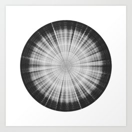 Sound of Saturn VI - Titan Art Print