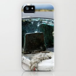 ship railings in Leith iPhone Case