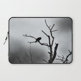 Solitary Crow Laptop Sleeve