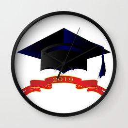 Cap Class Of 2019 Wall Clock