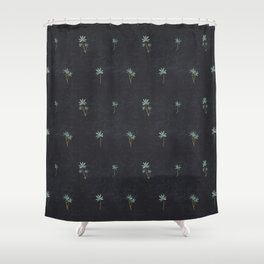 PALMA DARK Shower Curtain