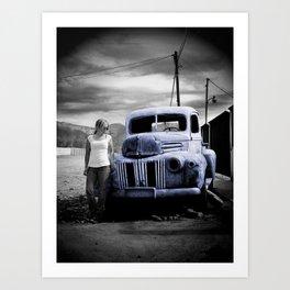 Truck Series 3 Art Print