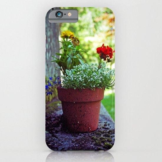 Cemetery plant iPhone & iPod Case