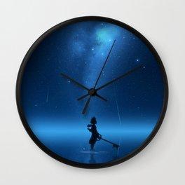 Face My Fears Wall Clock