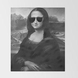 BE COOL -  Mona Lisa Throw Blanket