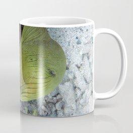 Watercolor Eel, Green Moray Eel 02, St John, USVI Coffee Mug