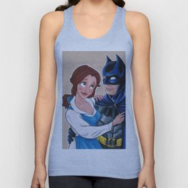 Beauty and the Bat Unisex Tank Top