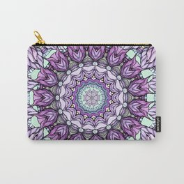 watercolor lily mandala Carry-All Pouch