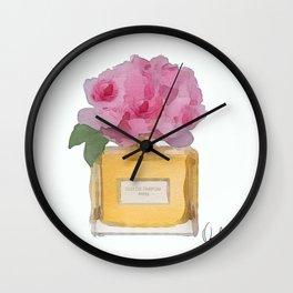 EAU DE PARFUM V.3 Wall Clock