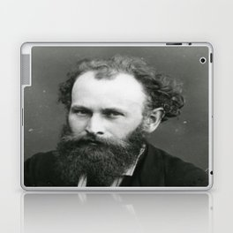 Portrait of Manet by Nadar Laptop & iPad Skin
