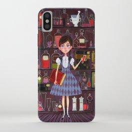 Flavia de Luce iPhone Case