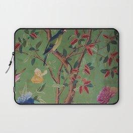Green Dream Chinoiserie Laptop Sleeve