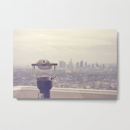The View: Los Angeles Metal Print