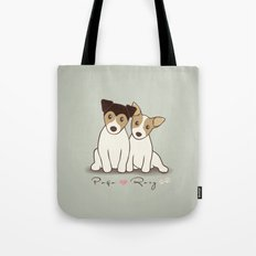 Pogo and Roxy Tote Bag