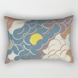 Abstract Geometric Artwork 86 Rectangular Pillow