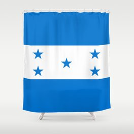 Flag: Honduras Shower Curtain