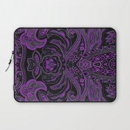 Paisley 3 Purple Laptop Sleeve