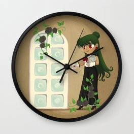 Retro Sailor Pluto Wall Clock