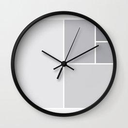 Fibonacci Blocks Wall Clock