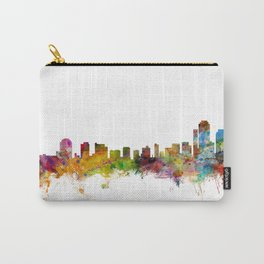 Wilmington Delaware Skyline Carry-All Pouch