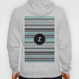 Monogram Tribal Pattern *Z* Hoody