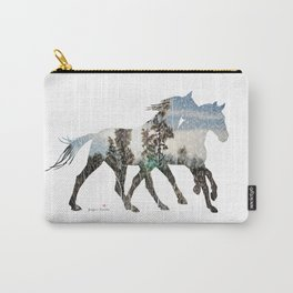 Autumn Horses Carry-All Pouch